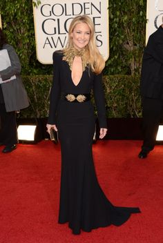 Kate Hudson in Alexander McQueen at the 2013 Golden Globes.