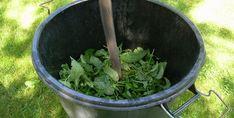 Aprenda como fazer Chorume de Urtigas. Veja os vários modos de usa-lo na sua horta.
