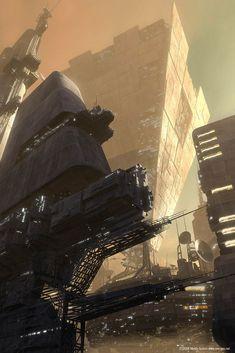 Future City by Marco Spitoni