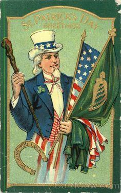 St. Patrick's Day Greetings Patriotic