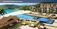 Walk out onto the beach or right by the pool in the Pink Gin Beachfront Walkout Club Level Room at Sandals LaSource Grenada - Sandals Resorts - Caribbean Vacation