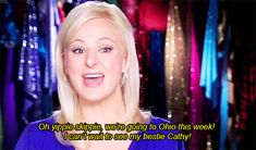 LOVE KRISTY. She always sticks up for the kids and moms :) and she has the best comebacks haha