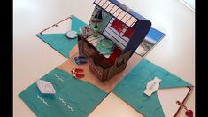 Explosionsbox - Strandkorb Gutscheinbox