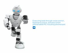 16 DOF ALPHA I Education Intelligent Humanoid Robot