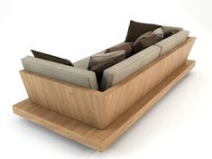 Bonetti kozerski - Lounge sofa Model available on Turbo Squid, the world's leading provider of digital models for visualization, films, television, and games. Palette Furniture, Home Decor Furniture, Sofa Furniture, Furniture Projects, Furniture Design, Wooden Couch, Wood Sofa, Osb Wood, Lounge Sofa