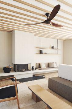 L'hôtel Maslina en Croatie | MilK decoration Wabi Sabi, Living Room Designs, Living Spaces, Living Rooms, Wooden Bathtub, Croatian Islands, Shabby, Minimal Living, Soothing Colors