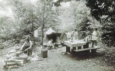 In 1930, Great Smoky Mountains National Park covered just 158,876 acres, and visitors camped wherever they pleased.