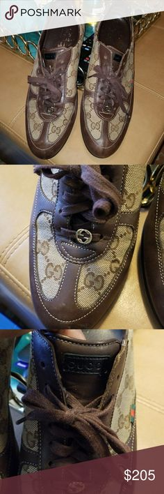 Gucci tennis shoes In excellent condition Gucci Shoes Athletic Shoes
