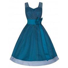 Ella Slate Ball/Prom Gown   Vintage Inspired Fashion - Lindy Bop