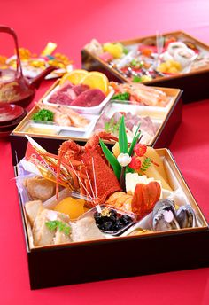 Gorgeous Japanese New Year's Food, Osechi