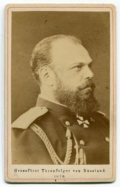 Alexander III Emperor & Autocrat of All the Russias (10 March 1845 – 1 November 1894)
