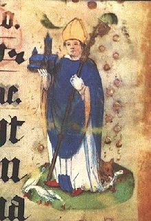 26 March - Feast Day - Saint Ludger Saint Ludger from an illuminated manuscript Apostle of Saxony Born742 AD Zuilen near Utrecht, Netherlands Died26 March 809 Billerbeck, district of Coesfeld, region of Münster, Germany AttributesBishop holding a cathedral; reciting his Breviary; with a swan on either side PatronageGroningen, Netherlands, Deventer, Netherlands; East Frisia; diocese of Münster, Germany; Werden, Germany