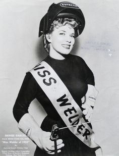 Denise Darcel, Miss Welder of 1952