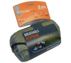 AMK SOL Escape Bivvy - Olive Drab - Breathable Emergency Survival Shelter