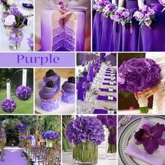 Purple Wedding Color Is One Of Those Colors That Makes Us Go Wow