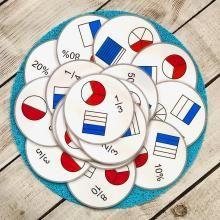 Cycle 3, Montessori Math, Math Fractions, Edd, Homeschool, Crafts For Kids, Teaching, Education, Fraction Games