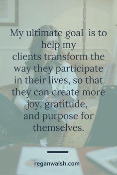 Coaching for Transformation - Regan Walsh
