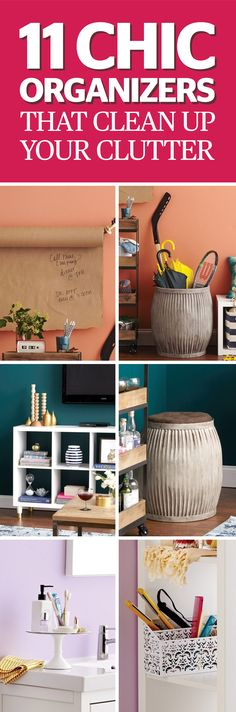 Clutter will make you crazy… but only if you let it. We asked organizing gurus and design pros to narrow down the seven hardest-working solutions you can buy—and not one of them costs more than $150. Don't you feel better already? Click through for the life-saving organizers you need.