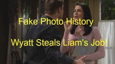 """""""The Bold and the Beautiful"""" spoilers for the Wednesday, March 2, episode tease that Wyatt (Darin Brooks) will wonder if it's time for a career shift."""