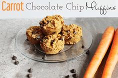 Check out this amazing list of gluten free and dairy free snacks and lunch recipes that everyone will enjoy! This list contains delicious easy options! Carrot Muffins, Chocolate Chip Muffins, Dark Chocolate Chips, Best Chocolate, Carrot Cake, Paleo Treats, Healthy Desserts, Healthy Cake, Dairy Free Snacks