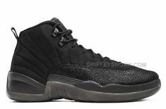 "http://www.griffeyshoes.com/air-jordan-12-retro-ovo-black-for-sale.html Only$92.00 AIR #JORDAN 12 #RETRO ""OVO"" BLACK FOR SALE #Free #Shipping!"