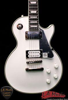 "LA Music Custom Guitars - Epiphone 2015 Tommy Thayer ""White Lightning"" Les Paul Standard Outfit (Limited) ELTTWLNH, $929.00 (http://lamusiccustomguitars.com/epiphone-2015-tommy-thayer-white-lightning-les-paul-standard-outfit-limited-elttwlnh/)"