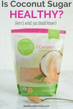 Is it healthier than white sugar? Worth the cost? Get the facts about coconut sugar! Nutrition Tips, Health And Nutrition, Pumpkin Cream Recipe, Blood Sugar After Eating, Low Gi Foods, Clean And Delicious, Delicious Food, No Carb Recipes