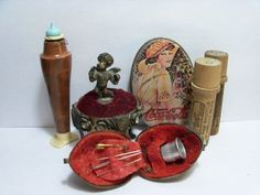 antique sewing items - Google Search