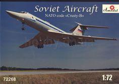 AModel AMO 72268 Tupolev Tu-134 UBL 1/72