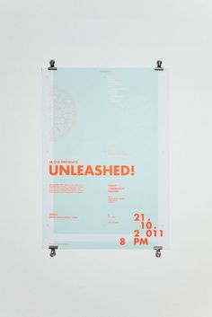 Unleashed! is a recent iden­tity project of Singapore-based stu­dio Acre