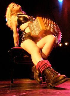 rock n roll accordion girl