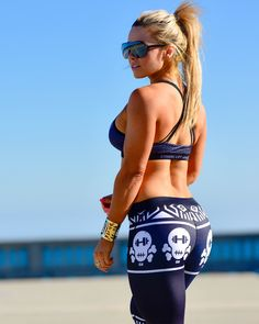 @strongliftwear Aztec Compression Pants - Skull    #gym #fitness www.strongliftwear.com
