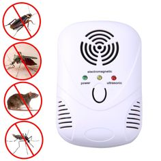 Cheap cockroach trap, Buy Quality mosquito repellent directly from China mouse killer Suppliers: Electronic Ultrasonic Mouse Killer Mouse Cockroach Trap Mosquito Repeller Insect Rats Spiders Control US/EU Plug Cockroach Repellent, Mice Repellent, Insect Repellent, Best Pest Control, Pest Control Services, Bug Control, Mosquito Killer, Anti Mosquito, Les Parasites