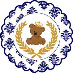 capa para lista de cha de bebe principe urso - Pesquisa Google