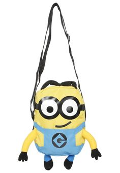 Fabrizio Olkalaukku yellow/blue Minions, Yellow, Blue, Backpacks, Fictional Characters, The Minions, Backpack, Fantasy Characters, Minions Love