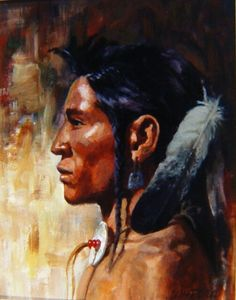 Hank Ford's painting Native American Paintings, Indian Paintings, Native American Art, American Indians, Western Theme, Le Far West, Indigenous Art, Nativity, Faces