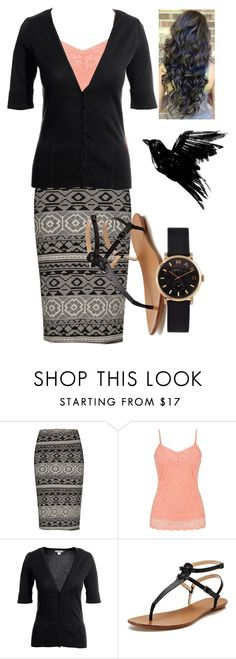 """""""Peach ( night 2, service ) Camp Peniel"""" by jen1301 ❤ liked on Polyvore featuring maurices, Monsoon, Maiden Lane, Marc by Marc Jacobs and RetreatsCampsAndMore"""