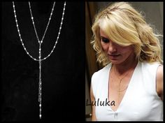 Hey, I found this really awesome Etsy listing at https://www.etsy.com/listing/232514190/lariat-necklace-as-seen-on-cameron-diaz