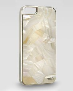 Shell iPhone 5 Case, Ivory  by Rage