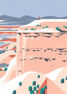 #landscape #illustration #vector