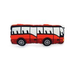DOPRAVNÍ PROSTŘEDKY / autobus červený
