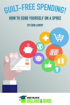 Guilt-Free Spending! How to Send Yourself on a Spree by Erin Lowry of Broke Millennial #shopping #smart