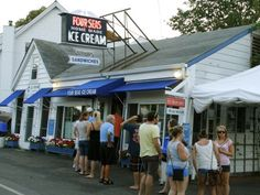 Four Seas Ice Cream in Centerville, MA. incredible! I grew up on the stuff, love their cantaloupe ice cream!