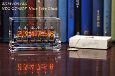 最終 卓上ニキシー管時計 完成品(日本電気NEC製CD-83P仕様)の価格比較|ヤフオク(ヤフーオークション)開催中- オークファン(aucfan.com)