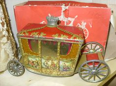 Genuine 1936 Coronation carriage in Emmaus Cambridge's second hand shop just in time for the Jubilee weekend!