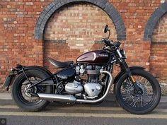 Take a peek at a variety of my favourite builds - specialized scrambler ideas like Triumph Bonneville, Triumph Bikes, Triumph Bobber, Motorcycle Store, Scrambler Motorcycle, Custom Motorcycles, Motorcycles For Sale, Triumph Tiger 800, Cars