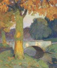 Gustave de Smet「Little Bridge」