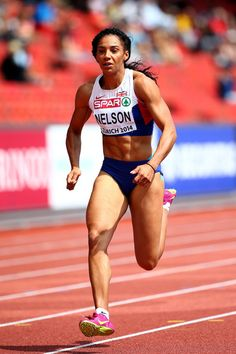 Ashleigh Nelson - Athletics. 100m relay.