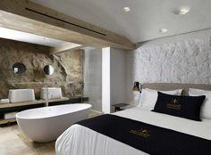 Kenshō Boutique Hotel Suites 900x667 Hotel Bath Ideas for the Master Bedroom