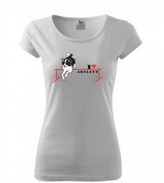 Agility nejsou jen zábava, agility jsou závislost! Dámská trička Pure nebo klasická unisexová trička Heavy v barvách bílá a černá s červeno černým nebo červeno bílým potiskem. 199 Kč Shirt Dress, T Shirt, Unisex, Mens Tops, Dresses, Fashion, Supreme T Shirt, Vestidos, Moda